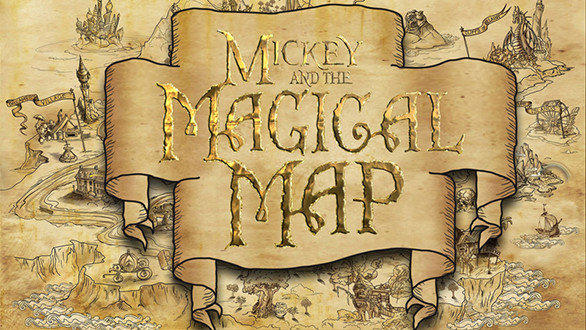 "The new 22-minute ""Mickey and the Magic Map"" musical at the Fantasyland Theatre features songs from half a dozen Disney animated films."