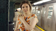 "Lena Dunham stars in the HBO series ""Girls."""