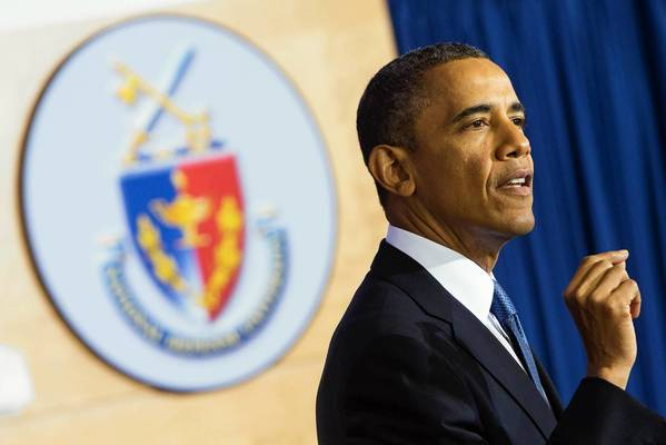 President Obama speaks on terrorism policy at the National Defense University in Washington last week.