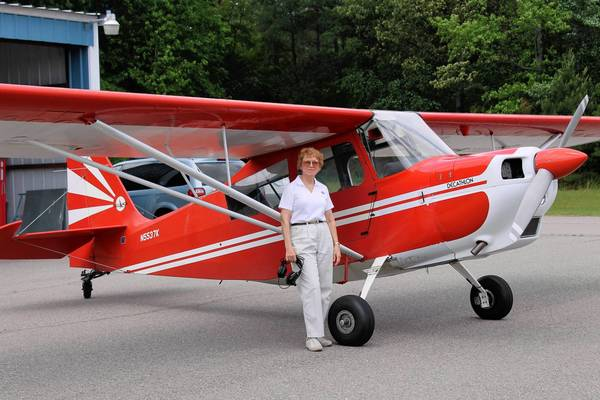 Linda Mathias, a Windsor native, started her flying career in the late 1960s. In addition to serving as an FAA Designated Pilot Examiner, she also has participated in cross-country races and aerobatic stunt competitions.