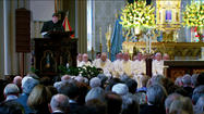 Father Hesburgh honored in Jubilee Mass