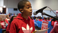 Littlest orator moves people on both sides of CPS debate