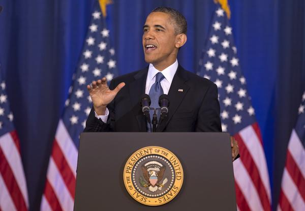 In his speech Thursday, President Obama sought to narrow and redefine the scope of the worldwide anti-terrorism campaign.