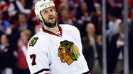 <strong>Brent Seabrook</strong> stood in front of his dressing-room stall and answered every question thrown his way — except the one about his reduced playing time.