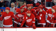 Mike Babcock has done much to goad the Red Wings to the verge of exterminating the best team in hockey's regular season, to jam well-timed adrenaline needles into his club. Cheerleading is not one of those things.