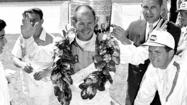 Parnelli Jones returns to Indianapolis 500 to commemorate 1963 win