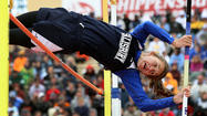 SHIPPENSBURG — Kaitlyn Toman had one last chance to clear 11 feet or she was out of the Class 2A pole vault competition.