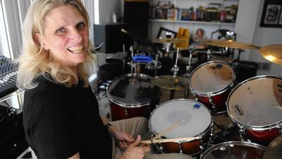 Drumming to her own beat: South Whitehall woman forms Menopausal Maniacs