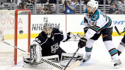 Let the gamesmanship begin as Kings, Sharks call each other for diving