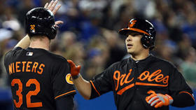 Orioles bash four homers in 10-6 win over the Blue Jays
