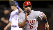 KANSAS CITY, Mo. — It's a little benefit of a win streak the Angels pushed to six with a 5-2 victory over the Kansas City Royals in Kauffman Stadium on Friday night, but it's definitely one they've noticed. The veil of negativity that hovered over the club for the first seven weeks of the season seems to have finally lifted.