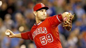 Angels' Robert Coello keeps hitters guessing with hybrid pitch