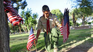 GALLERY: Boy Scout Flag Placing