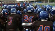 Spring Football Video: West Orange beats up on Edgewater 42-0