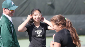 Howard County has strong showing on first day of state tennis tournament