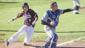 High school baseball: Marian's season ends on walk-off balk