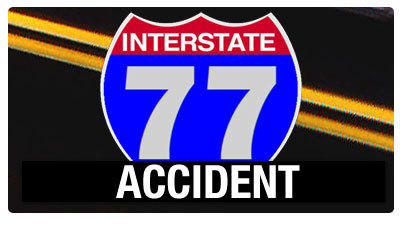 Virginia State troopers on scene of wreck on Interstate 77 in Carrol County