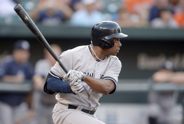 New York Yankees outfielder Curtis Granderson will be sidelined by a broken knuckle.