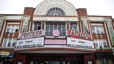 Portage Theater closed, padlocked