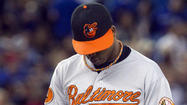 The Orioles placed right-hander Pedro Strop on the 15-day disabled list before Saturday's game against the Toronto Blue Jays with a lower back strain and recalled right-hander Steve Johnson from Triple-A Norfolk.