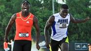 "Levonte 'Kermit"" Whitfield, left, winning at the 2012 Golden South Classic."