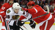 The Chicago Blackhawks took the ice Saturday for what they hope wasn't their final morning skate of 2013 as they prepared for Game 5 of the Western Conference semifinals against the Detroit Red Wings on Saturday night.