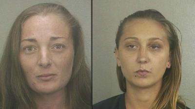 Two women accused of attacking, robbing cab driver