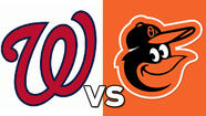 Orioles vs. Nationals