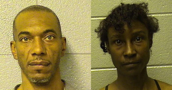 Lamont Gordon, 46, and Stacy Yearby, 42, are charged in a string of Near North Side burglaries this month.