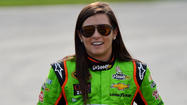Danica Patrick will join Stewart-Haas Racing team owner Tony Stewart in the back for Sunday's Coca-Cola 600 at Charlotte Motor Speedway.