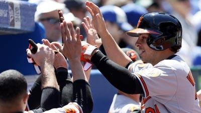 Orioles bats stay hot in a 6-5 win against the Toronto Blue Jays