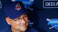 Indians manager Terry Francona.