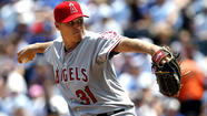 KANSAS CITY, Mo. -- Billy Buckner threw five shutout innings in his Angels debut, and Hank Conger and Josh Hamilton each homered in a 7-0 victory over the Kansas City Royals on Saturday at Kauffman Stadium, extending the Angels' winning streak to seven.