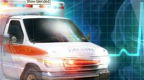 Child critically hurt after TV falls