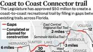 Coast to Coast bike-trail backers unfazed as Scott vetoes $50M