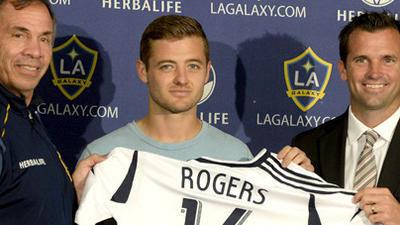 Robbie Rogers, openly gay soccer player, joins the Galaxy