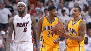 LeBron James might be the scapegoat for Miami's Game 2 loss, but a day after the Pacers tied the Eastern Conference Finals 1-1, the Heat's superstar showed some much-needed poise.