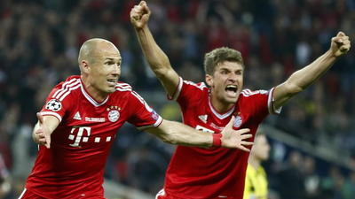 Bayern Munich wins Champions League with last-minute goal