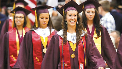 Jefferson High School graduates must go forward 'knowing you can make a difference'