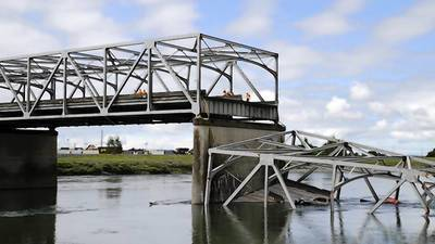 Truck load in Washington state bridge collapse believed taller than span's low point