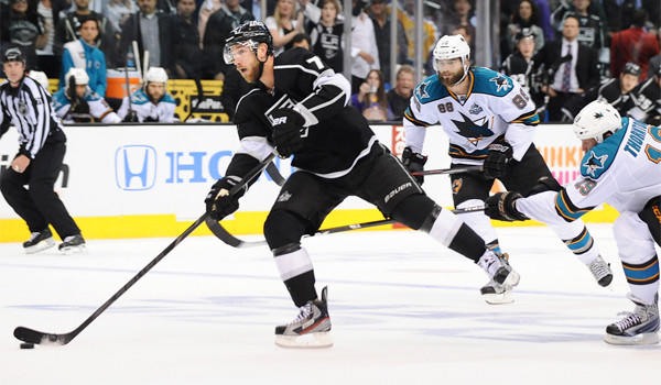 Jeff Carter is one of the main reasons the Kings have held San Jose scoreless in 10 power-play attempts in three games at Staples Center.