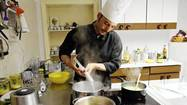 Cooking in Bologna, Italy