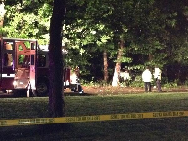 Two died and three others were injured when an SUV crashed into a tree in South Windsor Saturday night.