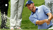 <strong>Matt Kuchar</strong> finished a long Saturday at Colonial exhausted and still a stroke in front.