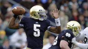 Everett Golson no longer enrolled at Notre Dame