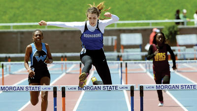 Prep Track & Field: Warriors girls complete 1A title sweep