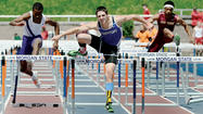 Boonsboro's Nick Seabright and South Hagerstown's Hayley Freeman both went out with a bang, as both seniors had monumental days at the Maryland State Outdoor Track & Field Championships on a blustery Saturday at Morgan State University.