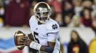 Notre Dame officials confirmed that the junior-to-be quarterback is no longer at the school.