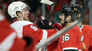 Game 5 photos: Hawks 4, Red Wings 1