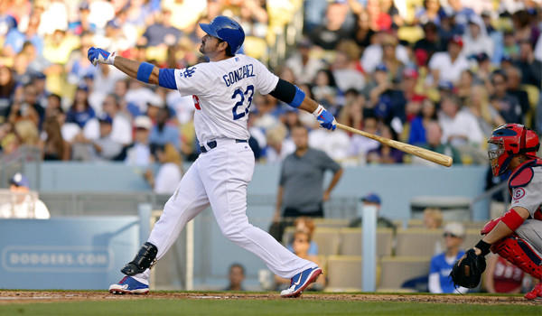 Adrian Gonzalez, who hit a solo home run in the fifth inning of the Dodgers' 5-3 victory over St. Louis, said that a roster full of high-priced All-Stars doesn't guarantee a pennant.